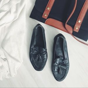 Cole Haan Leather Moccasin Loafers